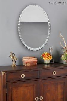 Laura Ashley Marcella Large Oval Mirror