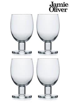 Set of 4 Jamie Oliver Wine Glasses