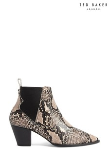 Ted Baker Snake Western Boots