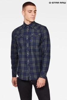 G-Star Blue 3301 Slim Shirt