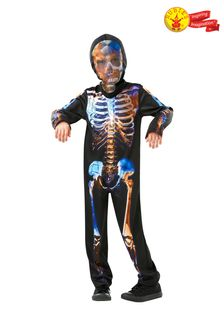 Rubies Halloween Skeleton Fancy Dress Costume