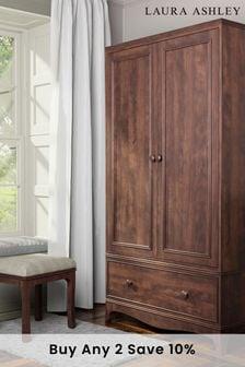 Broughton 2 Door 1 Drawer Wardrobe by Laura Ashley