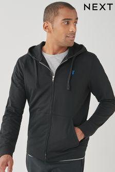 Lightweight Zip Through Hoodie