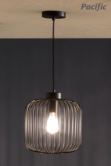 Dania Metal Wire Pendant by Pacific