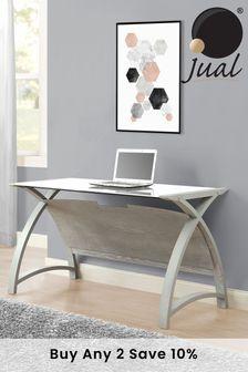 Helsinki 1300 Grey Laptop Table By Jual