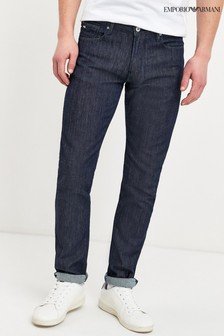 Emporio Armani J06 Slim Fit Blue Jeans