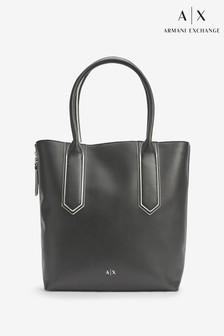 Armani Exchange Black Shopper Bag