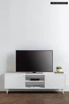 Moritz TV Unit White by Julian Bowen
