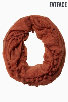 FatFace Orange Plain Snood