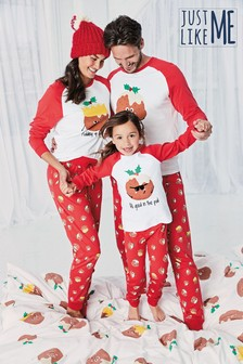 Womens Matching Family Pudding Pyjamas