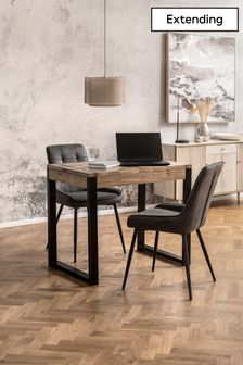 Jefferson Pine 2 to 4 Seater Extending Dining Table