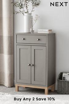Malvern Dove Grey Compact 2 Door Sideboard