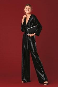 Sparkle Sequin Jumpsuit