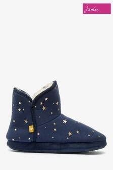 Joules Blue Slipper Socks