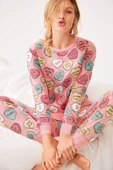 Heart Cotton Pyjamas