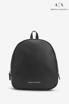 Armani Exchange Black Backpack