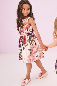 Print Prom Dress (3-16yrs)