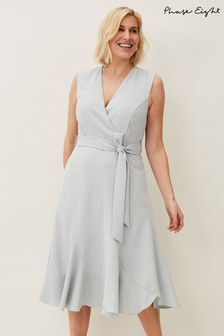 Phase Eight Grey Elena Sleeveless Dress