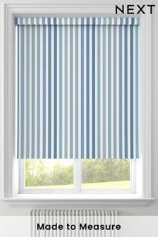 Blue Stripe Made To Measure Roller Blind