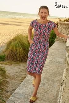 Boden Blue Florrie Jersey Dress