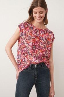 Textured Boxy T-Shirt