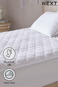 Sleep In Silk Mattress Protector