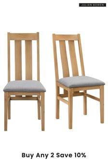 Cotswold Set Of 2 Chairs By Julian Bowen