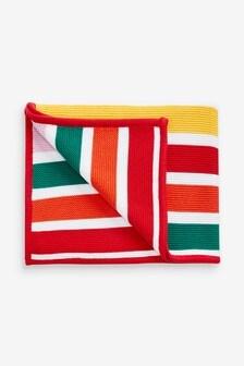 Stripe Knitted Blanket (Newborn)