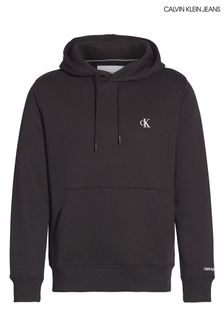 Calvin Klein Jeans Black Essential Logo Hoody