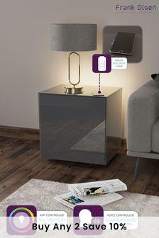 Frank Olsen Smart LED Grey Lamp Table