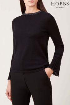 Hobbs Black Helen Sweater