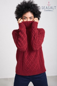 Seasalt Dahlia Tutwork Jumper