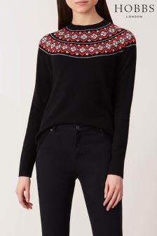 Hobbs Black Georgina Sweater