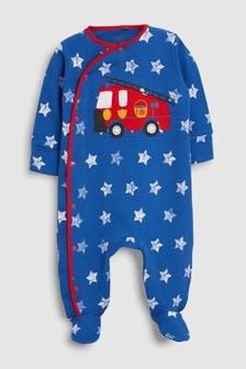 Fire Engine Sleepsuit (0mths-2yrs)