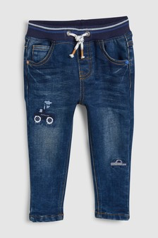 Pull-On Transport Jeans (3mths-7yrs)
