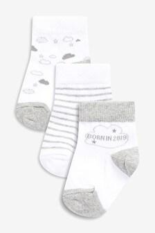 Born In 2019 Socks (Newborn)