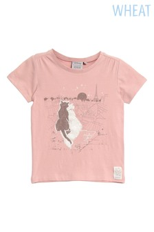 Wheat Pink Paris Tee