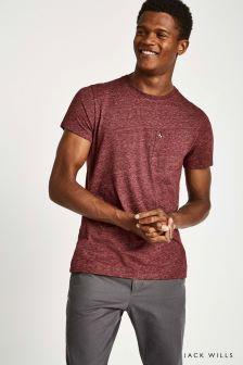 Jack Wills Damson Ayleford T-Shirt
