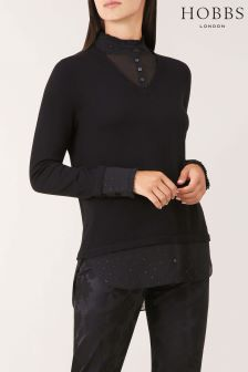 Hobbs Black Macy Sweater