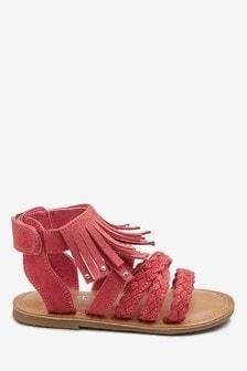 Fringe Sandals (Younger)