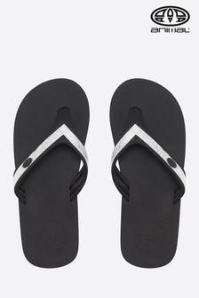 Animal Grey Swish Slim Flip Flop