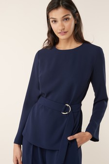 Co-Ord D-Ring Belted Top
