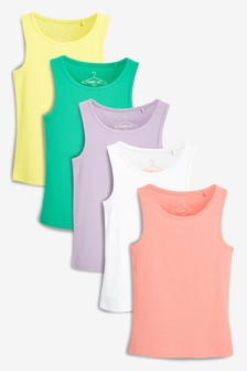 Bright Vests Five Pack (3-16yrs)