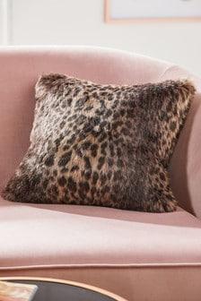 Animal Faux Fur Cushion