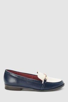 Twist Hardware Detail Loafers