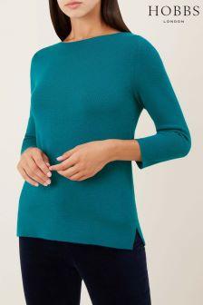 Hobbs Celadon Green Cesci Sweater