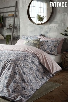FatFace Waterlillies Duvet Cover and Pillowcase Set