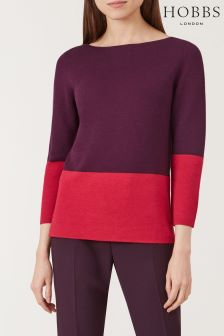 Hobbs Pink Cesci Sweater