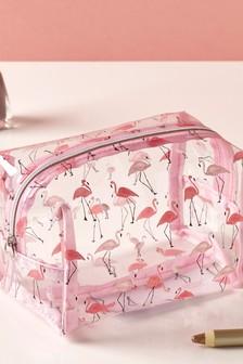 Flamingo Make-Up Bag