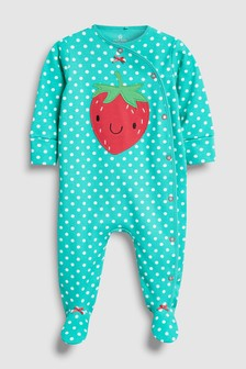 Strawberry Sleepsuit (0mths-2yrs)